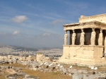 The top of the Parthenon