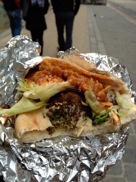 Best falafel ever from Maschu Maschu
