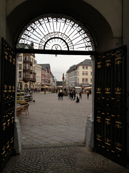 City square in Trier