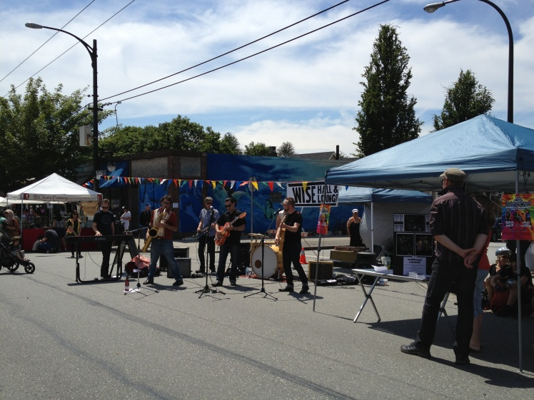 Car Free Day in Vancouver