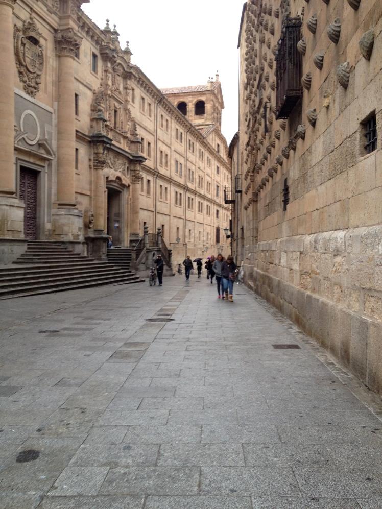 Streets in front of Casa de las Conchas