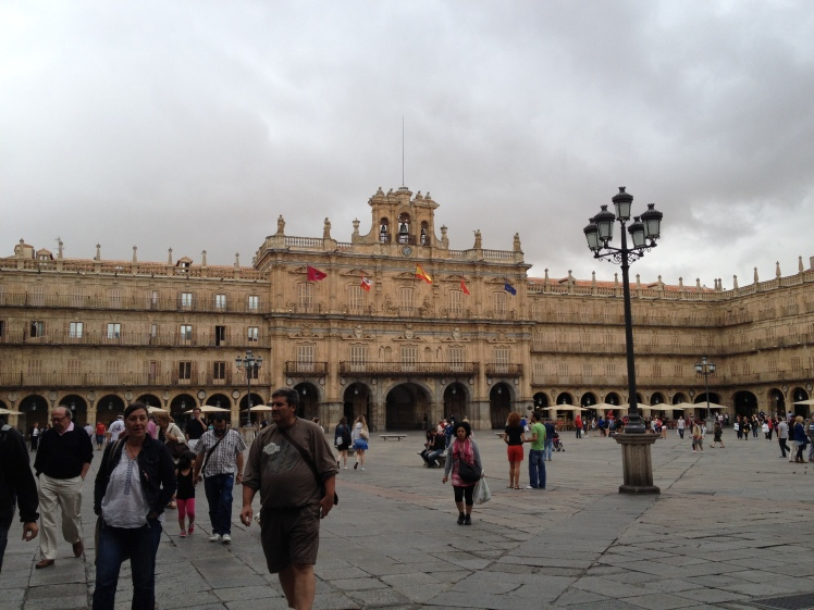 Who can't fall in love with Plaza de Mayor