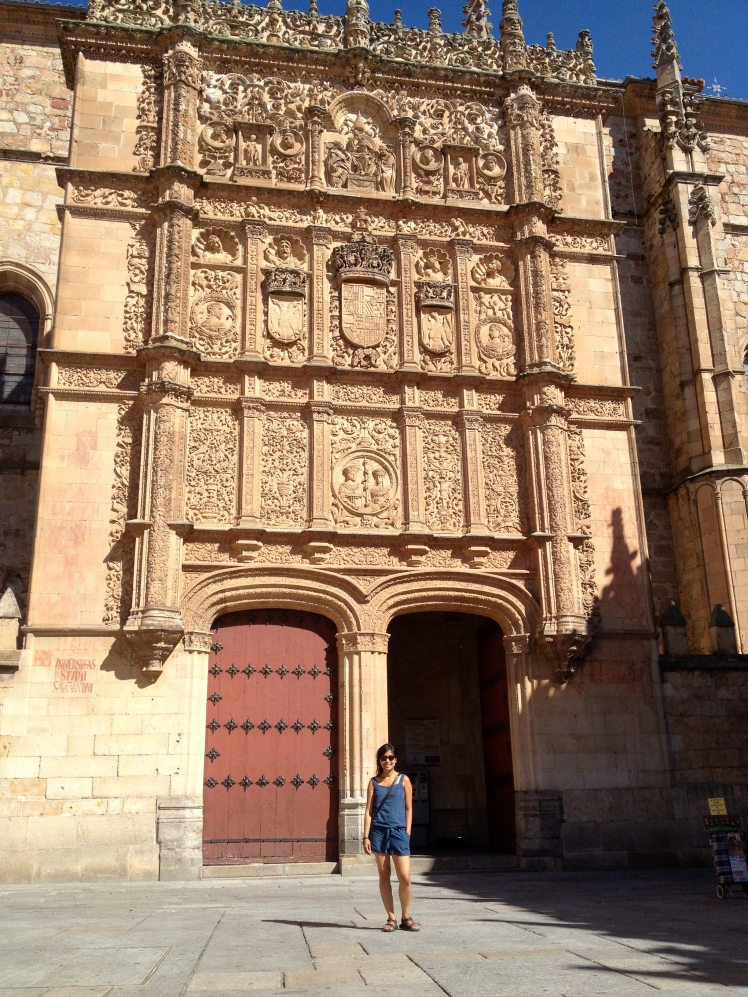 University of Salamanca–Find a frog on that wall and consider yourself lucky